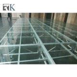 Het in het groot Draagbare Stadium van het Aluminium met het Platform van het Glas voor OpenluchtGebeurtenis