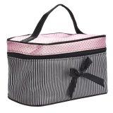 Портативный органайзер для хранения для макияжа набор туалетных принадлежностей поездки дамской сумочке косметический мешок