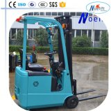 저희에게 Pre-Treated Three-Wheel Electric Counterbalance Forklift Exported