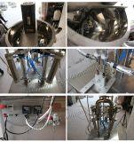 Máquina de rellenar de la goma Semi-Auto con la tolva para la mantequilla de cacahuete (GZA-2)