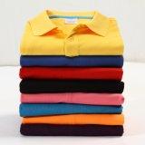 Barato por grosso Polo Tshirt camisas polo uniforme unissexo em branco