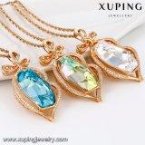 43146 Xuping der reizend Edelstein konzipiert Kristalle von den Swarovski Halsketten-Schmucksachen