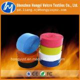고품질을%s 가진 다채로운 나일론 또는 폴리에스테 훅 그리고 루프 마술 테이프