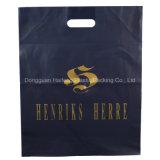 Bolso cortado con tintas plástico caliente de la maneta de la buena calidad de la venta de la fábrica de Dongguan