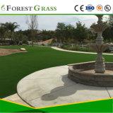 Gras van de Binnenplaats van de villa het Natuurlijke Groene Synthetische voor Verkoop
