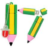만화 실리콘 연필 모양 Pendrive