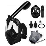 2020 verifiërde Nieuwste Ce RoHS het Volledige Snorkelende Masker van het Gezicht de Volwassen Jonge geitjes Masker het Duiken van de Mening van 180 Graad Masker snorkelen
