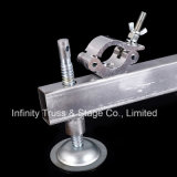 Piedi registrabili dell'altoparlante del fascio dell'acciaio di alluminio della torretta