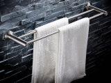 304 accessori della stanza da bagno della guida di tovagliolo del doppio dell'acciaio inossidabile