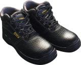 Стальные ботинки безопасности людей стальной плиты пальца ноги