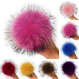 La Fausse Fourrure Pompom de chapeaux/la fausse fourrure POM POM Beanie