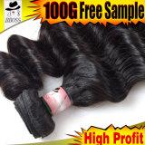 100% unverarbeitet vom malaysischen losen Wellen-Haar