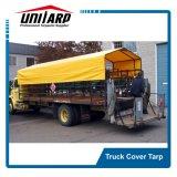 Tela incatramata Premium del camion del PVC con la tessitura di nylon ed i gommini di protezione d'ottone solidi