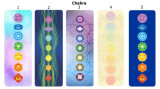 Циновка раздумья йоги природного каучука печати конструкции Chakra изготовленный на заказ
