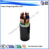 Isolation en polyéthylène réticulé Multi-Cores bande en acier gainé PVC Armored milieu Câble d'alimentation de tension