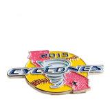 고품질 부유한 색깔 저속한 조직 기장 (YB-p-044)를 위한 아름다운 Hand-Made 접어젖힌 옷깃 Pin