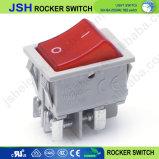 Kcd4 16 de la luz de un interruptor basculante con terminales roscados
