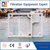 Placa de filtro hidráulica manual da câmara da DZ