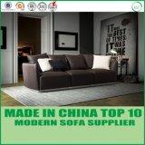 Jogo moderno do sofá do couro do látex da mobília da sala de visitas