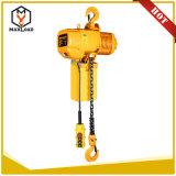 alzamiento pesado de elevación del bloque de cadena del uso de materiales de 3t los 5m