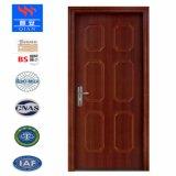 現代様式の木製の耐火性のドア、熱い販売の木の火の評価されるドア