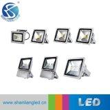 La Chine usine 10W/20W/30W/50W/100W Projecteur extérieur LED Lampe à LED