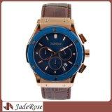 Reloj clásico del acero inoxidable, alto reloj de Quanlity para el hombre