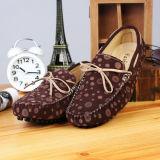 Ботинки способа обуви шлюпки Loafer людей кожи замши военно-морского флота вскользь