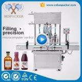 Llenador automático del petróleo de la máquina de rellenar de la salsa de la fruta de la máquina de rellenar de la goma