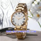 Wristwatches сплава изготовленный на заказ вахты логоса вскользь (WY-025E)