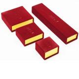 Flocking коробка ювелирных изделий Flannelette корпии стаи (J46-E)
