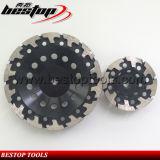 инструменты бетона колеса чашки диаманта разъема формы M14 7inch t