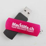 Speicher-Stock-Daumen-Laufwerk der Metallschwenker USB-grellen Platte-2GB