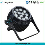 Luz colorida al aire libre del disco de 12*14W Rgbawuv 6in1 LED