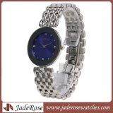 Het heet-verkoopt Horloge van de Vrouwen van het Kwarts van de Beweging van Japan, de Horloges van Sappgire van het Roestvrij staal