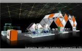 Visualización de aluminio de la cabina de la exposición justa
