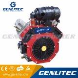 Air-Cooled 4 de la carrera de 27HP V-Twin cilindro del motor Diesel