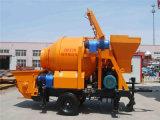이동할 수 있는 소형 트럭에 의하여 거치되는 구체 믹서 트럭 구체 믹서 펌프
