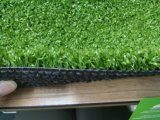 Grama sintética bicolor do PE para ajardinar o relvado do jardim
