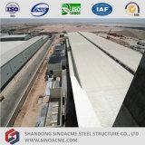 Costruzione poco costosa del gruppo di lavoro della struttura d'acciaio in Algeria