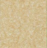Azulejo de suelo esmaltado por completo pulido interior de la porcelana del mármol del amarillo del material de construcción