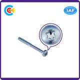 DIN/ANSI/BS/JISの炭素鋼かステンレス製のプラム収縮の棒のテールセルフ・タッピングねじ