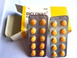 Tablettes certifiées par GMP de sodium de diclofénac 50mg pour la détoxication
