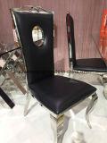 生きている部屋の家具のローズの椅子を食事する金ステンレス鋼フレーム