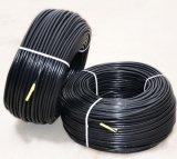 Tubulação preta da irrigação de gotejamento de Wholeslae da fábrica com preço barato