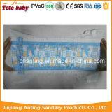 Couche-culotte remplaçable de Backsheet de tissu de bébé de première feuille non-tissée