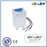 Impression continue d'imprimante à jet d'encre de Duel-Tête pour la bouteille de drogue (EC-JET910)