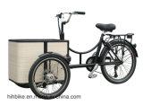 Педаль помогла электрическому велосипеду колеса Trike 3 груза трицикла