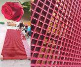 囲う装飾のためのFRPのピンクの形成された格子