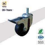 볼트 구멍 피마자 산업 TPR 물자 바퀴